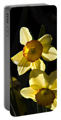 Dos Daffs Portable Battery Charger by Joe Schofield