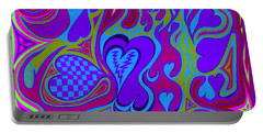 Double Broken Heart Portable Battery Charger