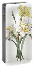 Double Daffodil Portable Battery Charger