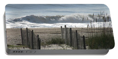 Double Dune Fence Portable Battery Charger