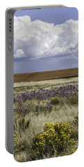 Dove Creek Fall Flowers Portable Battery Charger