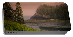 Portable Battery Charger featuring the photograph Downeast Coast by Alana Ranney
