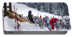 Downhill Skiing Portable Battery Charger