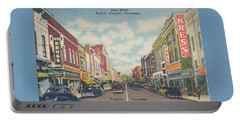 Downtown Bristol Va Tn 1940's Portable Battery Charger