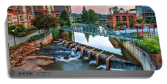 Downtown Greenville On The River Portable Battery Charger