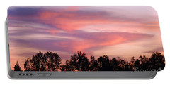 Portable Battery Charger featuring the photograph Dragon Clouds by Meghan at FireBonnet Art