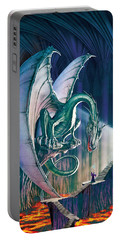 Dragon Lair With Stairs Portable Battery Charger by The Dragon Chronicles - Robin Ko