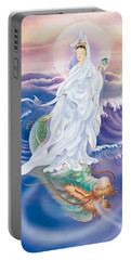 Dragon-riding Avalokitesvara  Portable Battery Charger by Lanjee Chee