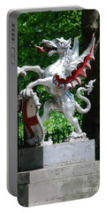 Dragon With St George Shield Portable Battery Charger
