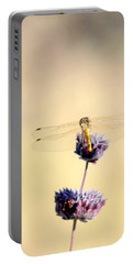 Portable Battery Charger featuring the photograph Dragonfly by AJ  Schibig