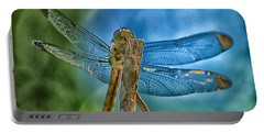 Portable Battery Charger featuring the photograph Dragonfly by Dennis Baswell