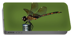 Portable Battery Charger featuring the photograph Dragonfly by Meg Rousher