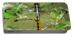 Dragonfly Pastel Portable Battery Charger