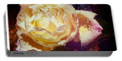Dramatic Rose Portable Battery Charger