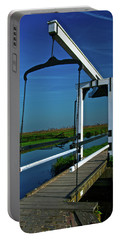 Drawbridge At Zaanse Schans Portable Battery Charger by Jonah  Anderson
