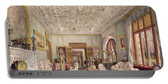 Drawing Room In The Gothic Style, C.1850 Portable Battery Charger