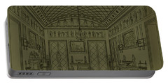 Drawing Room With Egyptian Decoration Portable Battery Charger