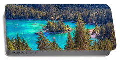 Dream Lake Portable Battery Charger by Hanny Heim