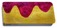 Dream Of Dunes Original Painting Portable Battery Charger