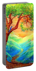 Dreaming Of Bluebells Portable Battery Charger