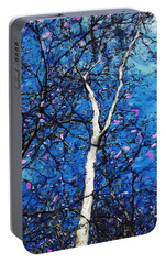 Portable Battery Charger featuring the digital art Dreaming Of Spring by David Lane