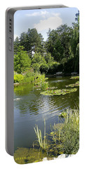 Portable Battery Charger featuring the photograph Dreamy Pond by Verana Stark