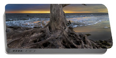 Driftwood On Jekyll Island Portable Battery Charger