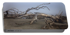 Driftwood Trees On Jekyll Island Portable Battery Charger