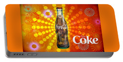 Drink Ice Cold Coke 4 Portable Battery Charger
