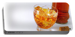 Drink On The Rocks Portable Battery Charger