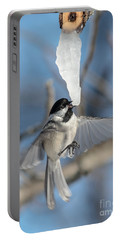 Drinking In Flight Portable Battery Charger by Cheryl Baxter