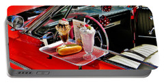 Drive-in Diner Portable Battery Charger