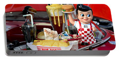 Drive-in Food Classic Portable Battery Charger
