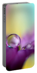 Drops Of Spring Colour Portable Battery Charger