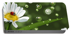 Drops Of Spring Portable Battery Charger