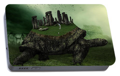 Druid Golf Portable Battery Charger by Marian Voicu