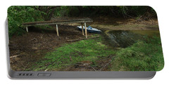 Portable Battery Charger featuring the photograph Dry Docked by Peter Piatt