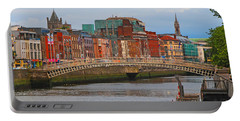 Dublin On The River Liffey Portable Battery Charger