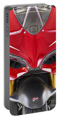Ducati-unplugged V11 Portable Battery Charger by Douglas Barnard