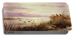 Duck Hunting Companions Portable Battery Charger by Bill Holkham