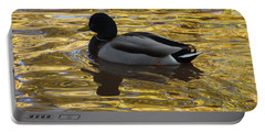 Duck On Water I Portable Battery Charger