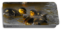 Duckling Splash Portable Battery Charger
