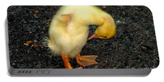 Duckling Takes A Bow Portable Battery Charger