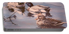 Ducks On The Cachuma Portable Battery Charger