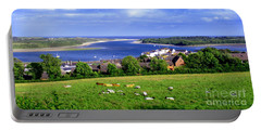 Dundrum Bay In County Down Ireland Portable Battery Charger by Nina Ficur Feenan