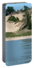 Dunes Of Lake Michigan Portable Battery Charger