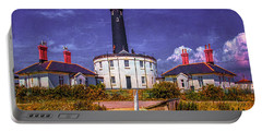 Portable Battery Charger featuring the photograph Dungeness Old Lighthouse by Chris Lord