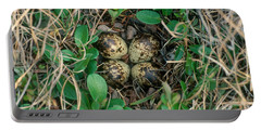 Dunlin Nest And Eggs Portable Battery Charger