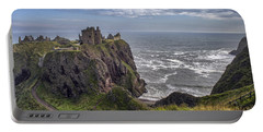 Dunnottar Castle And The Scotland Coast Portable Battery Charger by Jason Politte