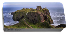 Dunnottar Castle Panorama Portable Battery Charger by Jason Politte